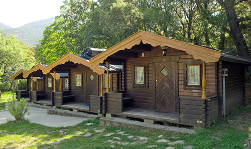 Rental bungalows in Rodellar. Bungalows in the Natural Park of the Sierra de Guara